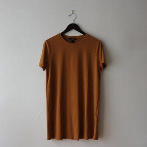 Orange/yellow t-shirt dress